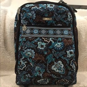 Great Vera Bradley Rolling Carry On Suitcase-GUC